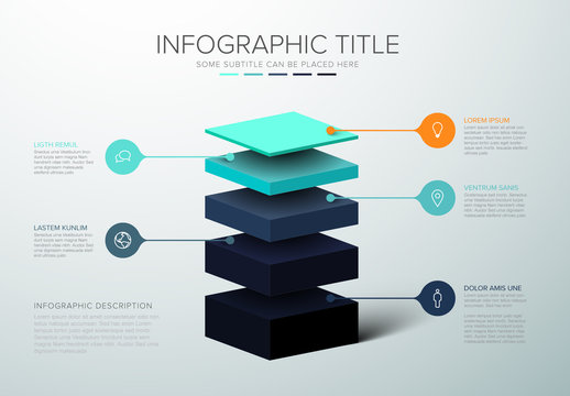 Layered Infographic Layout