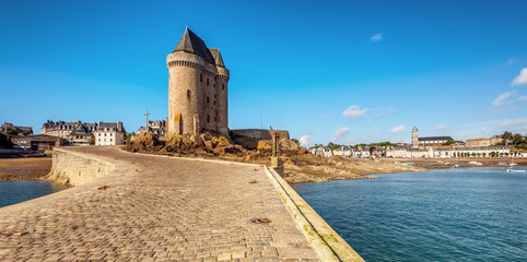 Solidor tower in St Malo, Brittany, France
