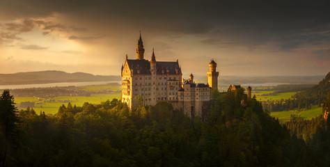 Neuschwanstein Castle Panorama