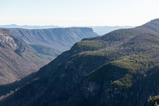 Hiking in the Linville Gorge, North Carolina