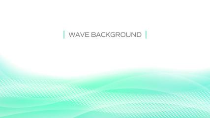 波の抽象背景