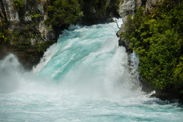 Printed roller blinds Waterfalls The Waikato river funnelling through the Huka Falls