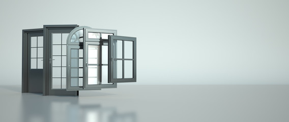 Door and windows selection