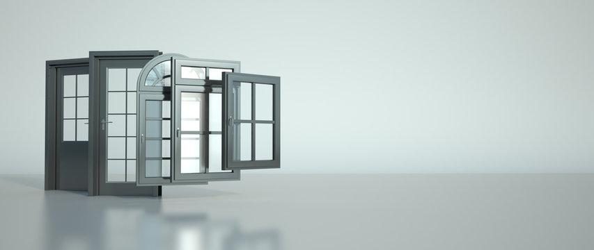 Door and windows selection