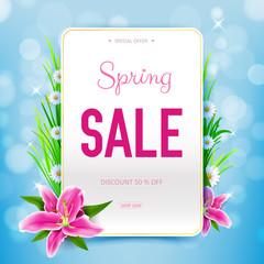 Spring Sale Background 007