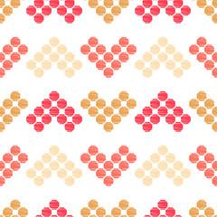 Foto op Canvas Boho Stijl Ethnic boho ornament. Seamless pattern. Tribal motif. Vector illustration for web design or print.