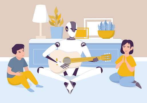 Artificial intelegence as a part of human routine. Domestic personal robot