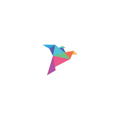 Fototapeta Bird Modern Logo Template. Vector Illustrator.