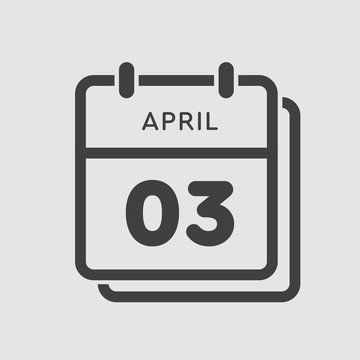 Calendar day 3 April, days of the year