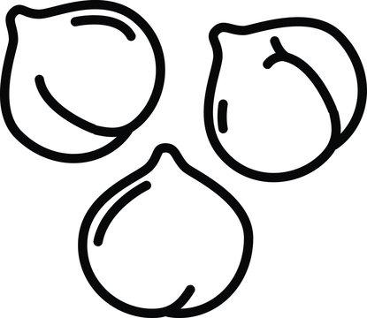 chickpeas hummus icon