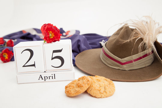 April 25th, ANZAC Hat & Biscuits