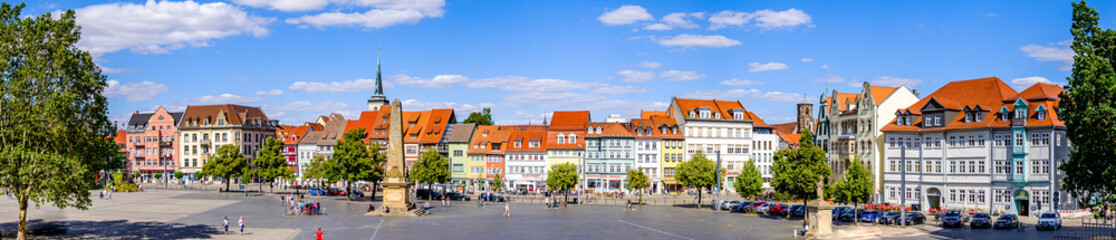 old town of erfurt - germany Fototapete