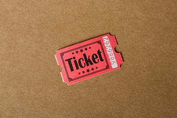 Ticket d'entrée