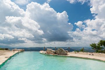 Beautiful open air swimming pool