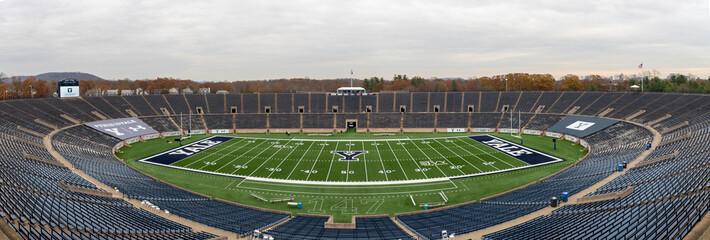 New Haven, CT / USA: Yale Bowl Football Stadium at Yale University