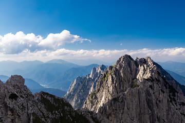 Mangart mountain,  Triglav national park, Julian Alps, Slovenia