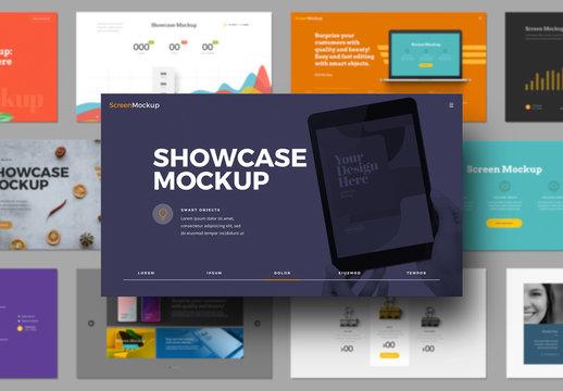 Presentation Showcase Mockup