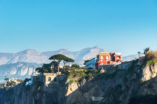 Sorrento, Amalfi coast, Naples bay (Napoli bay), Italy