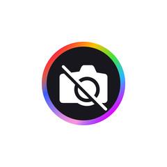 No Camera -  App Icon
