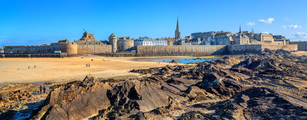 St Malo walled city, Brittany, France