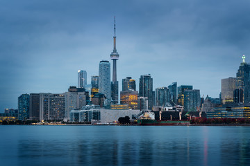 Wall Mural - Toronto skyline at the morning