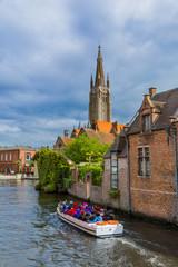 Brugge cityscape - Belgium