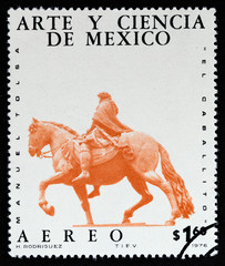 Statue of Charles IV, The Horse (Mexico 1976)