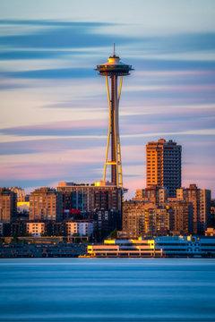 Space Needle - Seattle Washington - Cityscape