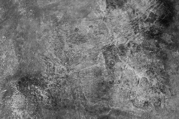 Grey grungy concrete wall textured background