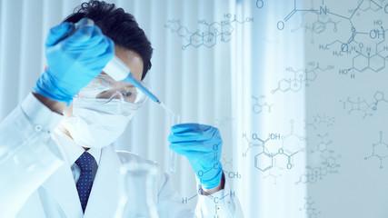 研究イメージ 化学 実験