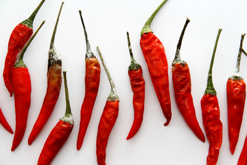 Canvas Prints Hot chili peppers Red chili peppers are known as paprika