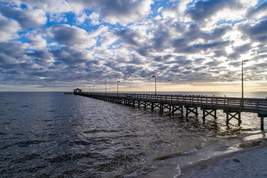 Biloxi, Mississippi pier