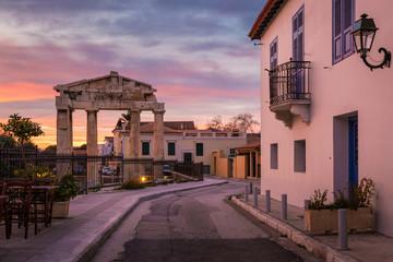 Photo sur Aluminium Europe Méditérranéenne Roman Agora in Athens.