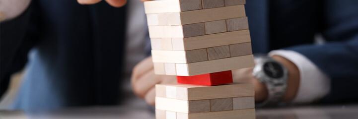 Metaphor to business thinking Fototapete