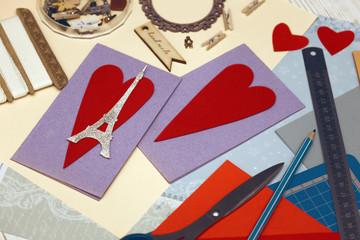 scrapbook valentines day