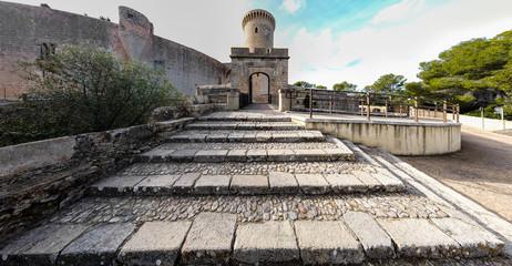 Spain, Balearic Islands, Majorca, Palma de Mallorca Castell Bellver,, Dez 2019