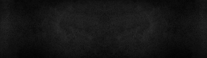 Black dark rustic leather texture - Background banner panorama long Fotobehang