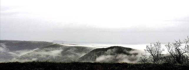 Papiers peints Blanc Dans les nuages