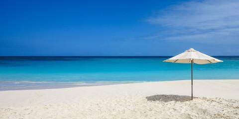 beach umbrella on beach