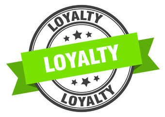 loyalty label. loyaltyround band sign. loyalty stamp