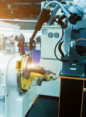 Industrial robots for welding products