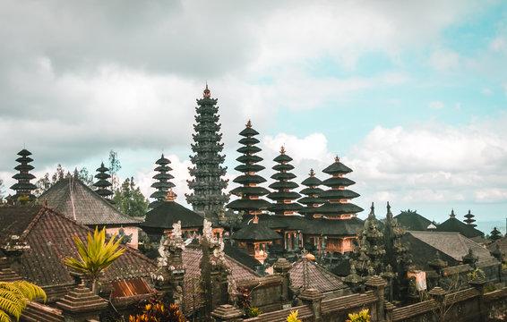 Main Bali temple Pura Besakih in Bali, Indonesia