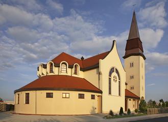 Church of St. Jadwiga in Zgorzelec. Poland