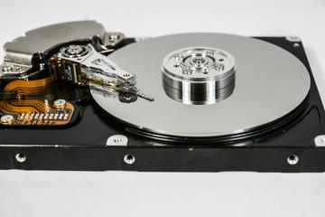Offene HDD Festplatte