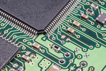 Mikrochips - Makro