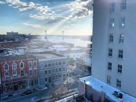 Downtown Wilmington, NC, USA