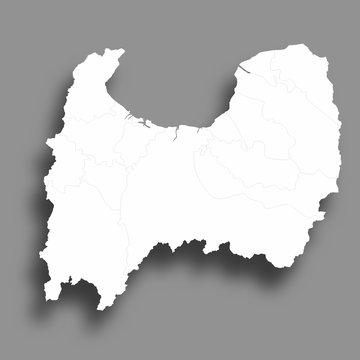富山 地図 シルエット アイコン