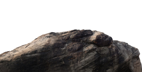 Large granite pictures isolated on a white background.