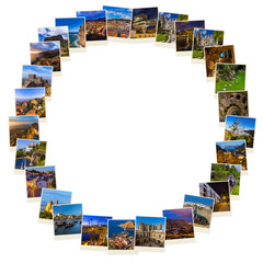 Frame made of Portugal images (my photos)