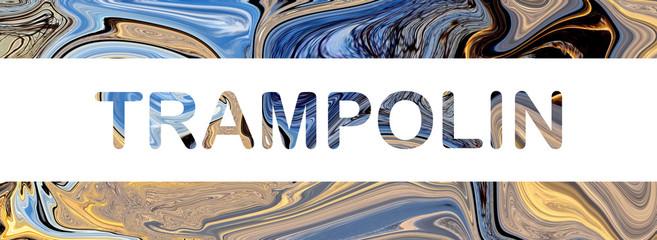 web Sport Label Trampolin